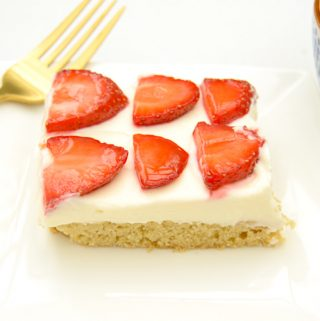 Strawberries and Cream Cookie Bars