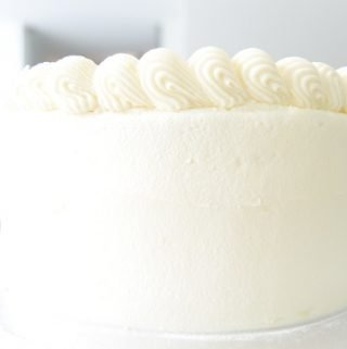White Cake from Scratch
