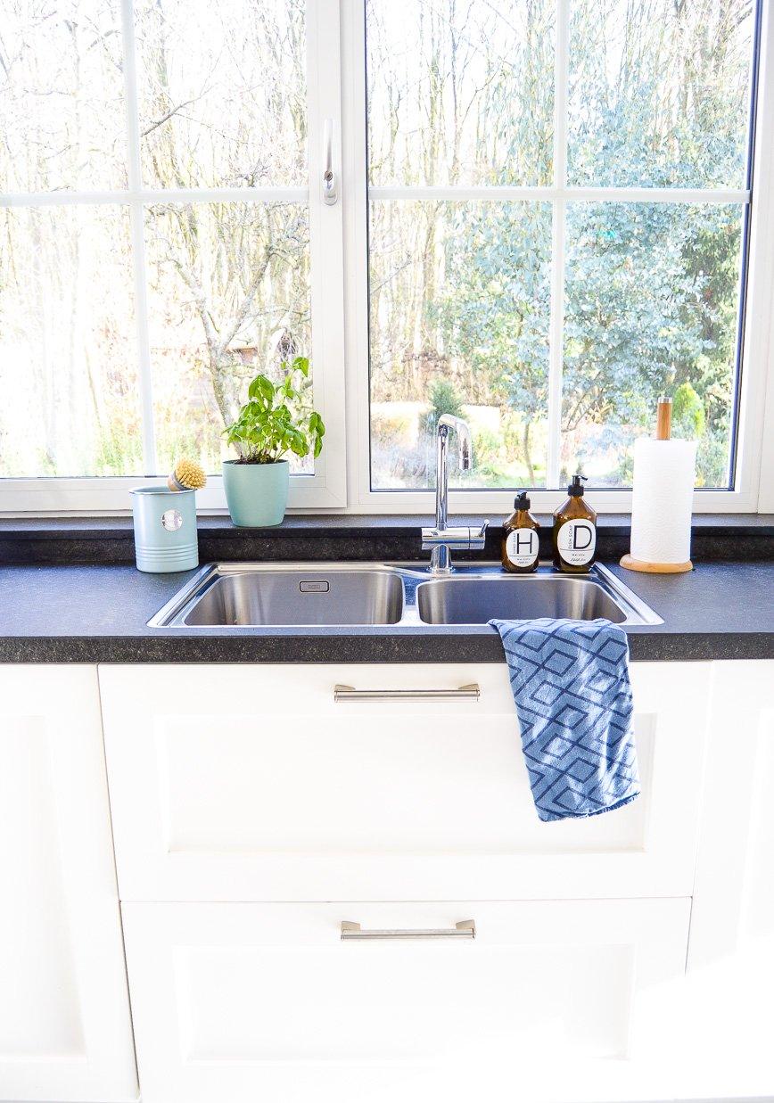 kitchen sink makeover - new