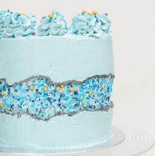 Fault Line Cake Tutorial