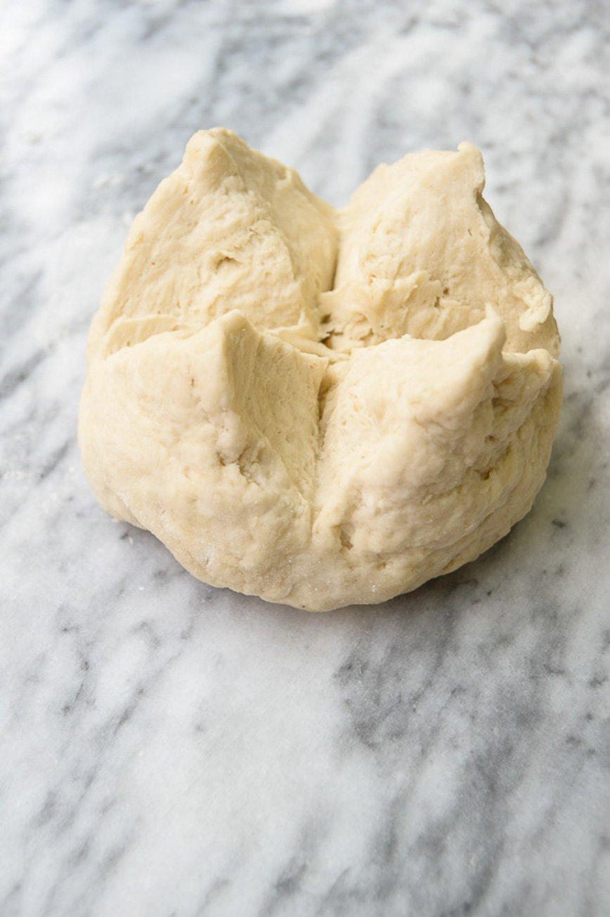 classic puff pastry rough dough
