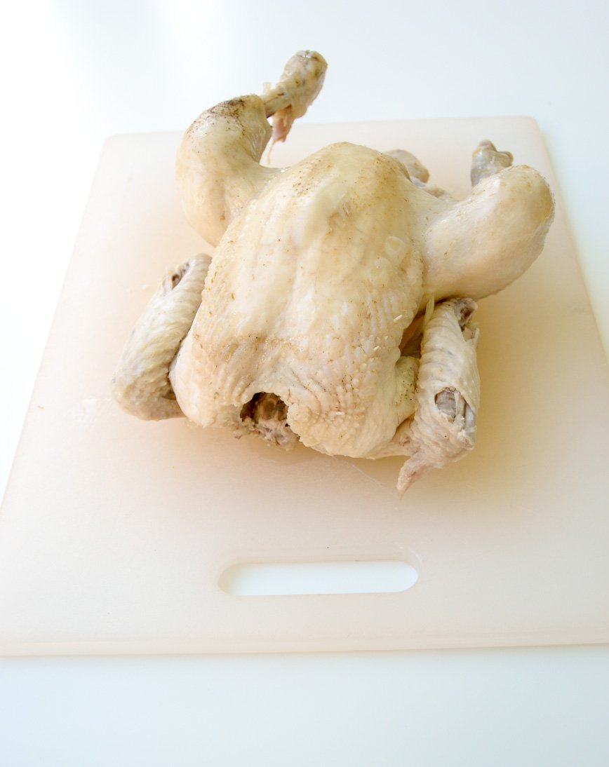 homemade chicken stock whole chicken