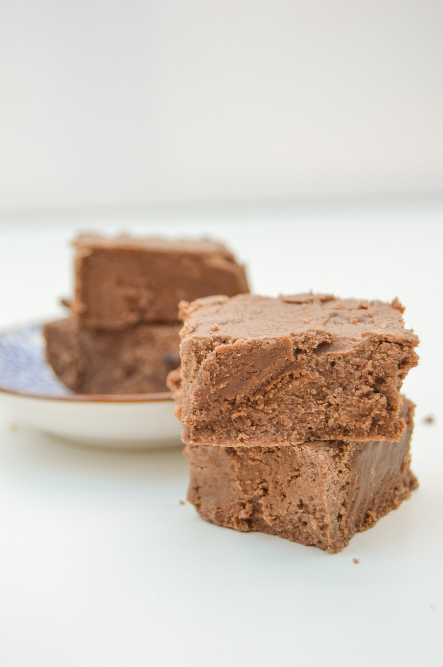 Christmas cookie - chocolate fudge