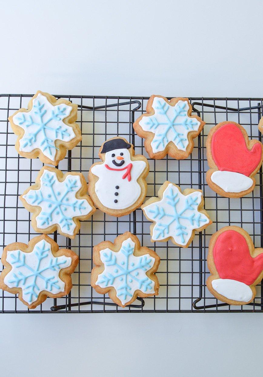 christmas cookie - sugar cookie