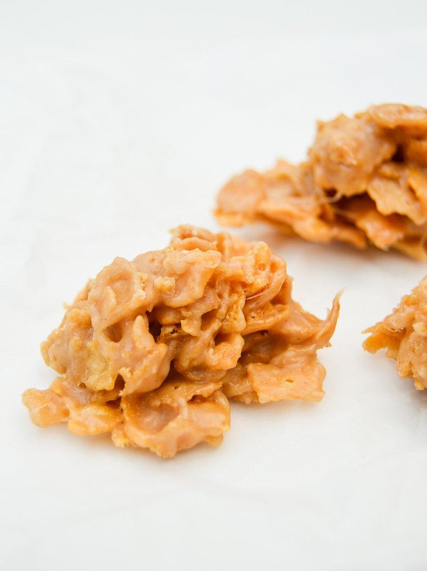 christmas cookie - cornflake crunchies