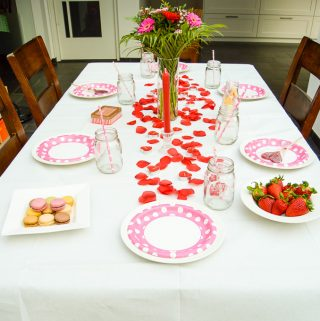 Family Valentine's Day Dinner