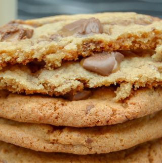 Soft and Chewy Rolos Cookies