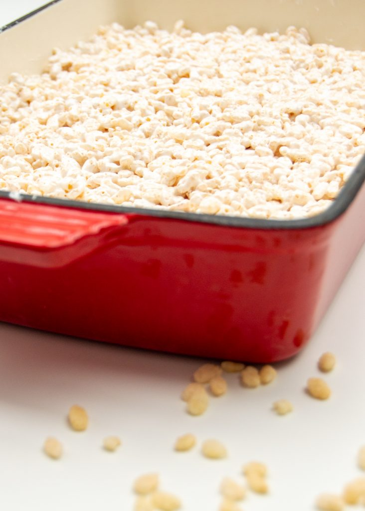 rice krispie treats - pan