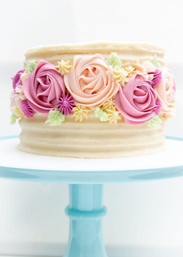 vanilla cake full