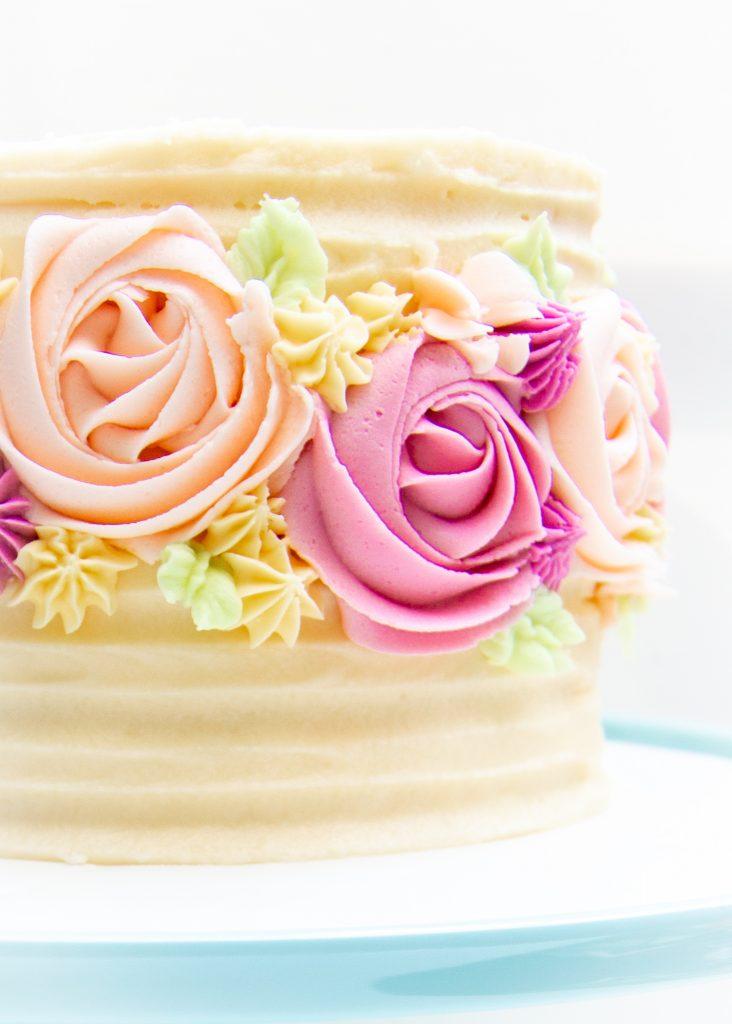 vanilla cake_spring