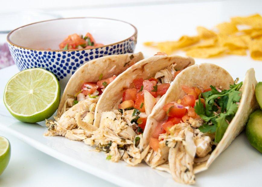 cilantro lime chicken_tacos
